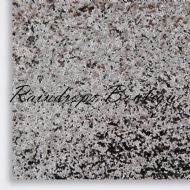 Chunky Pewter Glitter Fabric